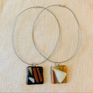 Jewelry - Art glass necklaces